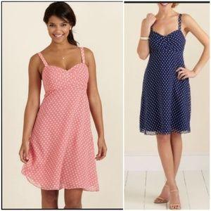 Vineyard vines blue polka dot dress 4